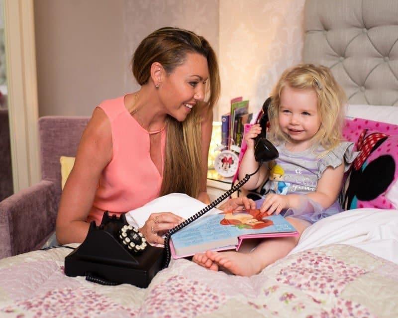 Disney Mum of the Year Michelle Heaton treats daughter Faith and