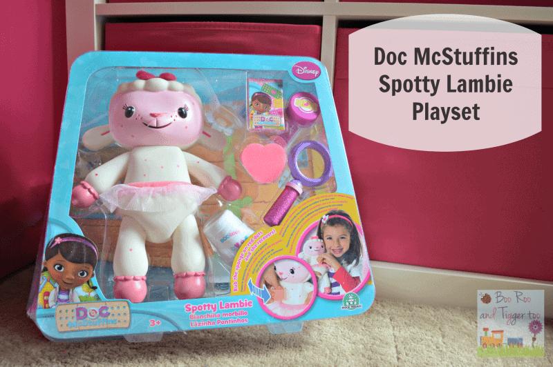 Doc McStuffins Spotty Lambie Playset