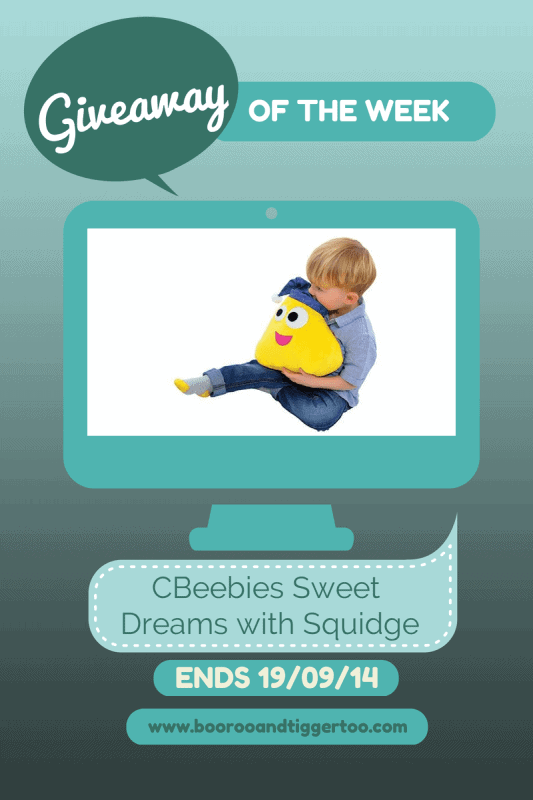 Giveaway - CBeebies Sweet Dreams with Squidge