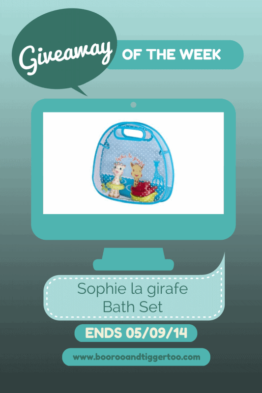 Giveaway - Sophie la girafe