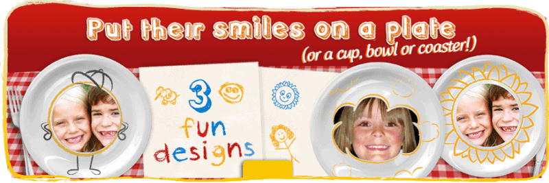McCain Smiles - Put their smile on a coaster