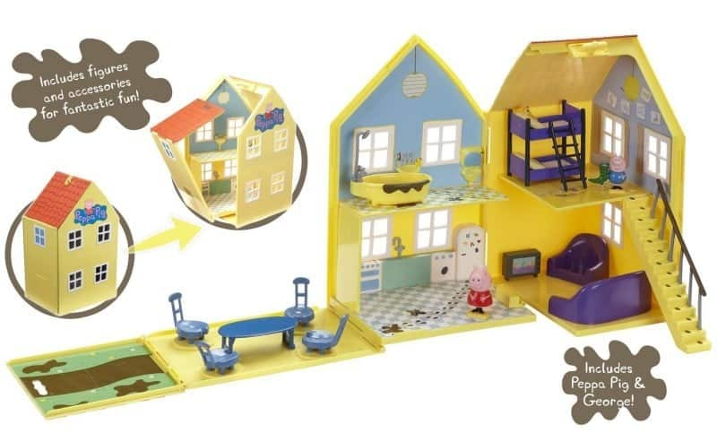 Peppa Pig Muddy Puddles Deluxe Playhouse