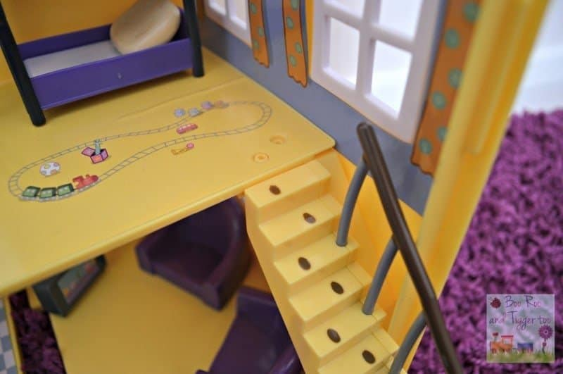 Peppa Pig Muddy Puddles Deluxe Playhouse - Stairs