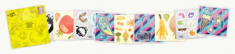 The Sticker Club - Sticker collection