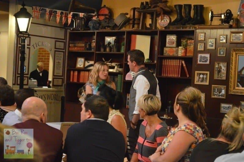 Yesterday's Worlld #TwoHearts - Tea Room Drama