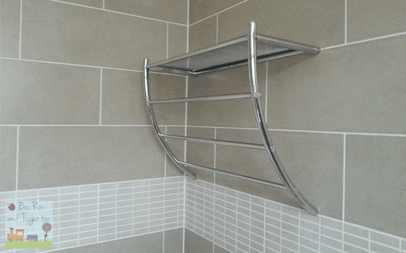 Bathroom Renovation - Towel Rail