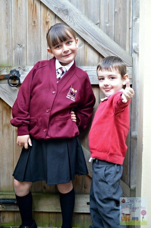Boo Roo and Tigger Too - Back to School 2014