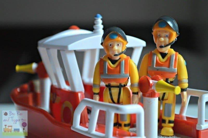 Fireman Sam Action Figures - Sam and Penny
