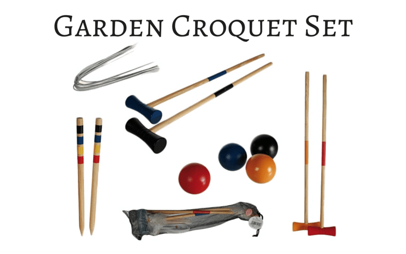 Garden Croquet Set