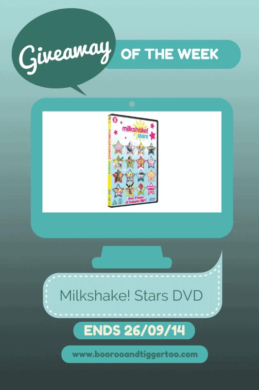 Giveaway - Milkshake! Stars