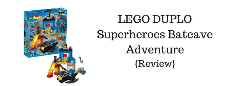 LEGO DUPLO Superheroes Batcave Adventure {Review}