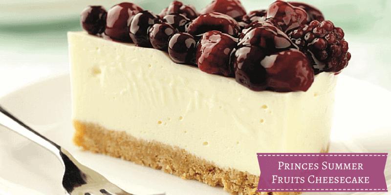 Princes Summer Fruits Cheesecake {Recipe}