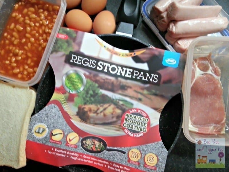 Regis Stone Non-Stick Breakfast Challenge