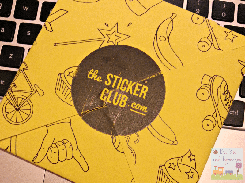 The Sticker Club - First Delivery