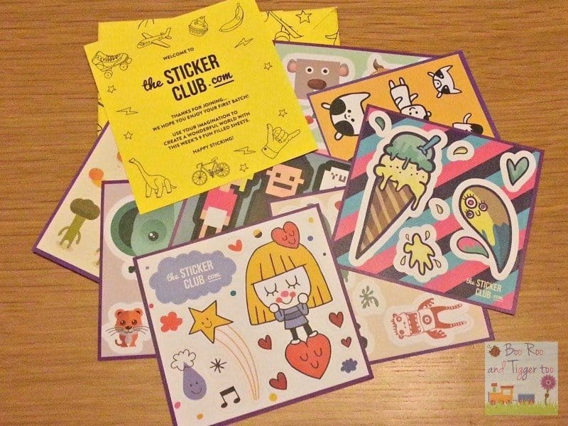 The Sticker Club - Sticker collection