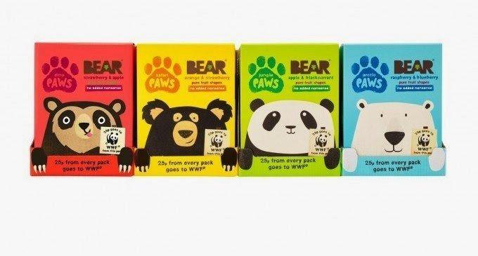 BEAR WWF Paws