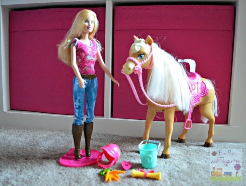 Barbie Cuddle and Feed Tawny Horse Review