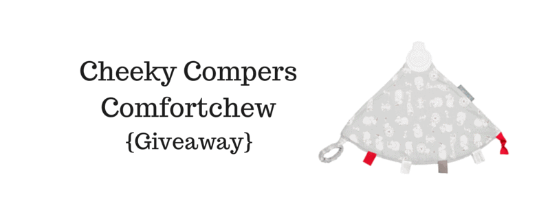 Cheeky Chompers Comfortchew {#Giveaway} – Ends 07/11/14