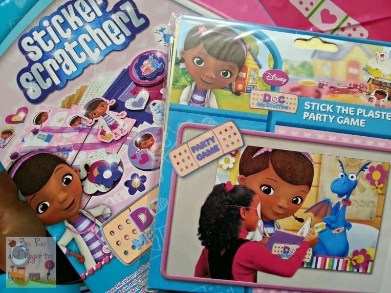 Doc McStuffins #Doctober - Party Games