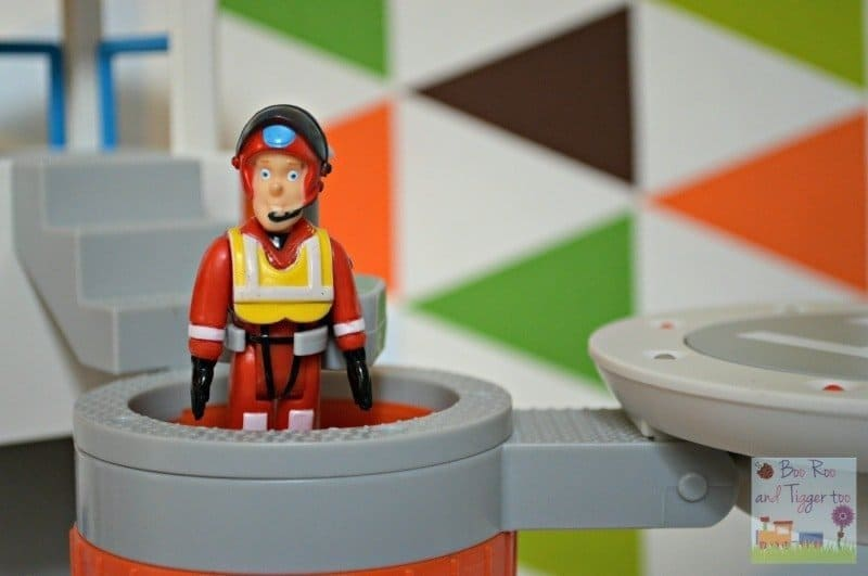 Fireman Sam Ocean Rescue Playset - Fireman's Pole