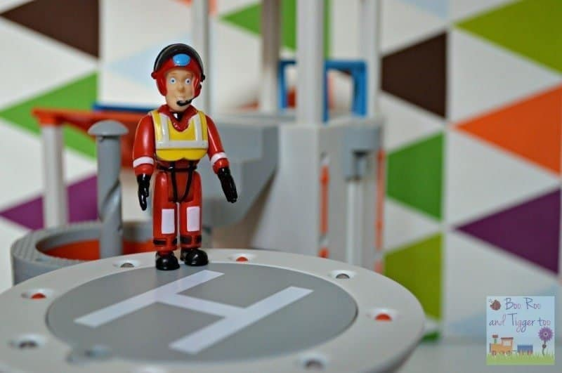 Fireman Sam Ocean Rescue Playset - Helipad