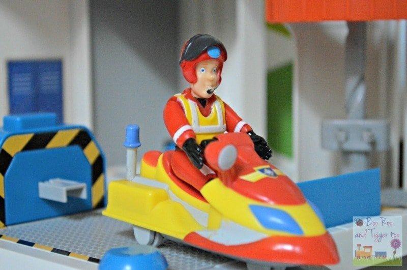 Fireman Sam Ocean Rescue Playset - Jet Ski
