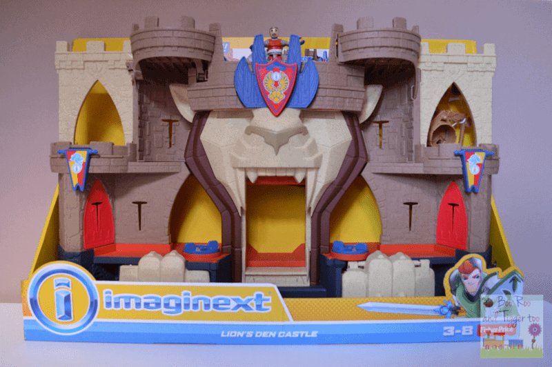 Fisher-Price Imaginext Lions Den Castle
