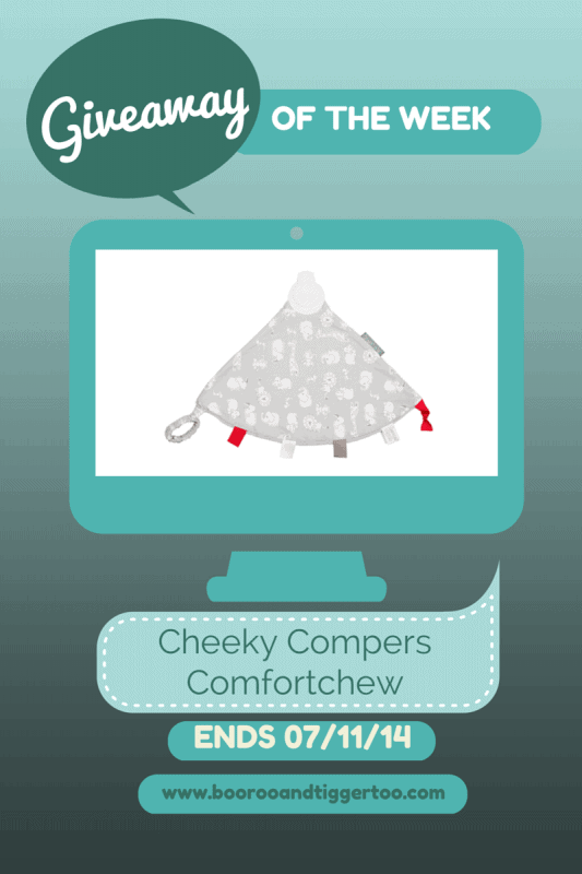 Giveaway - Cheeky Chompers Comfortchew