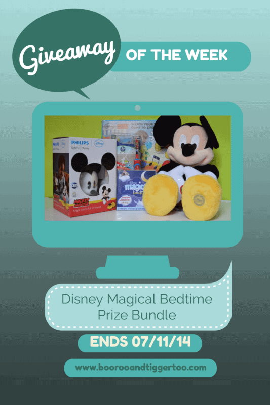 Giveaway - Disney Magical Bedtime