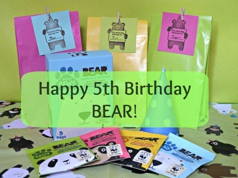 Celebrating BEAR's 5th Birthday in partnership with WWF