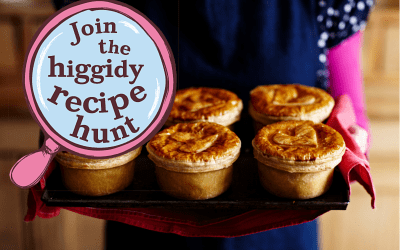 Join the Higgidy Recipe Hunt – What pie would you create?