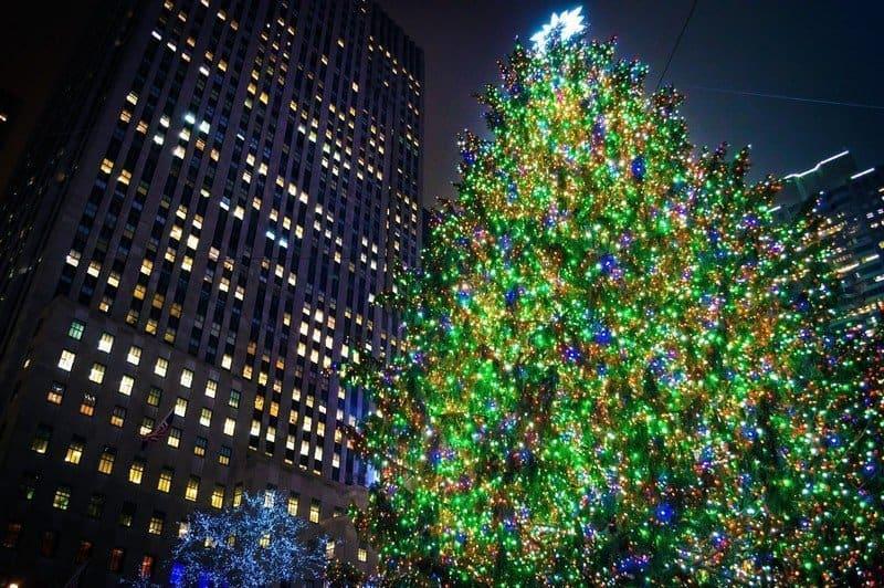 Tall Christmas Tree Rockefeller Center