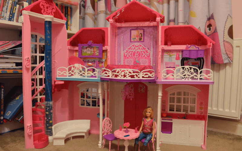 Barbie Malibu House - Open