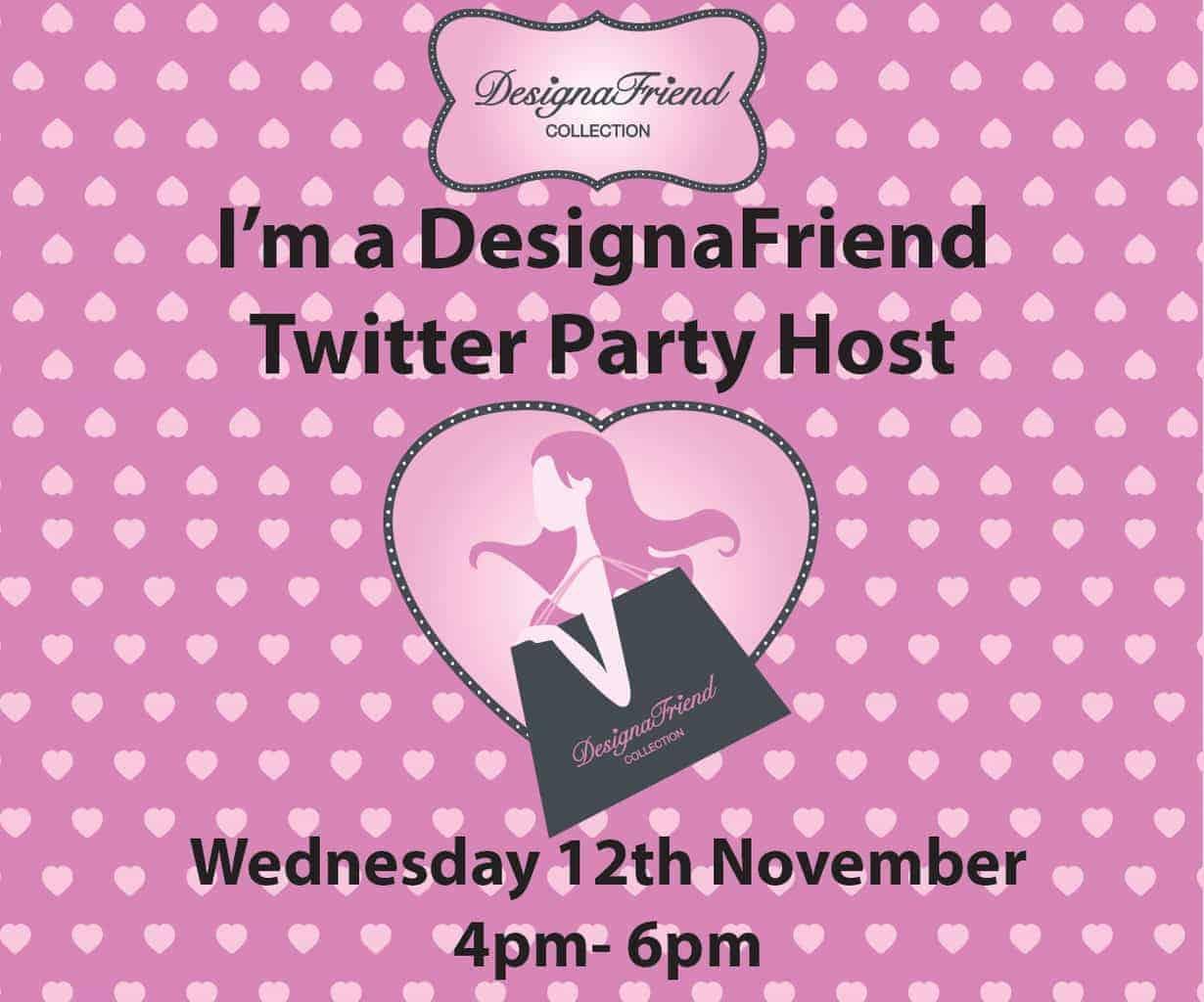 DesignaFriend Twitter Party Host #DesignaFriend