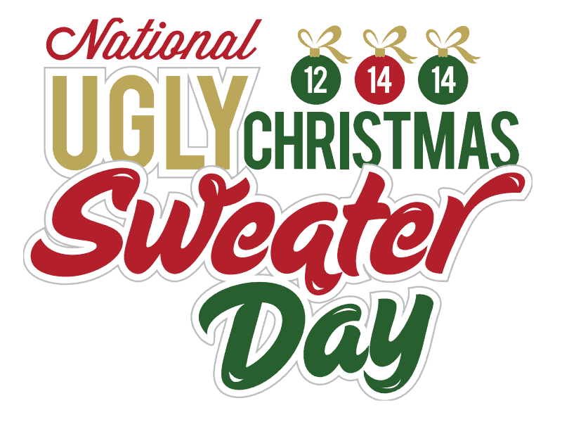 National Ugly Christmas Sweater Day –  12th December 2014