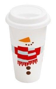 Costa Snowman Ceramic Cup