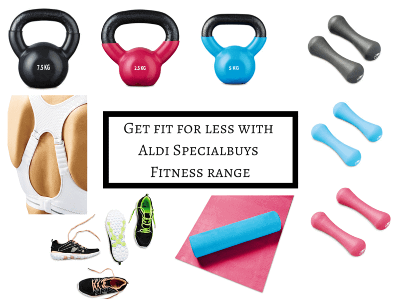 Get fit for less with Aldi Specialbuys Fitness range