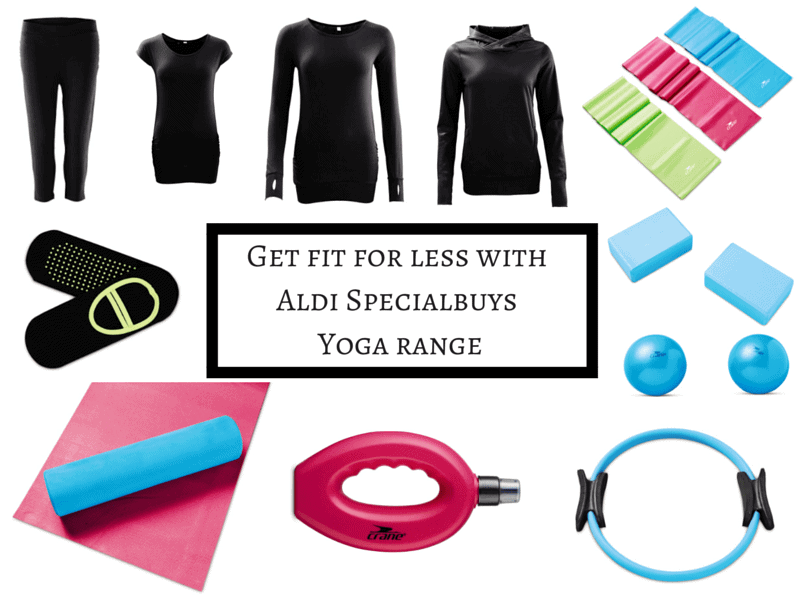Get fit for less with Aldi Specialbuys Yoga range