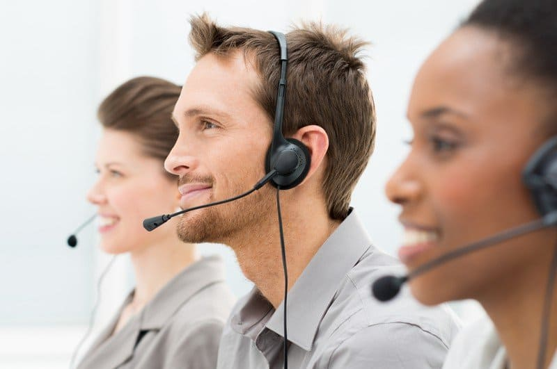 http://www.dreamstime.com/stock-photo-happy-telephone-operators-closeup-row-image30551740