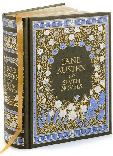 Jane Austen - Seven Novels (Barnes & Noble Leatherbound Classic Collection)