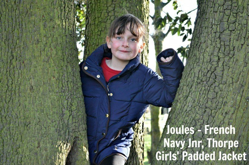 Joules - French Navy Jnr, Thorpe Girls' Padded Jacket