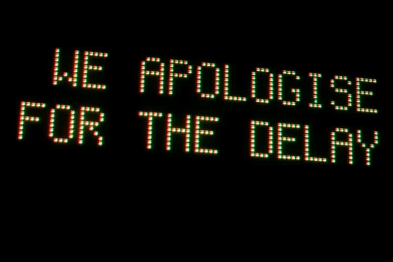 We apologise for the delay