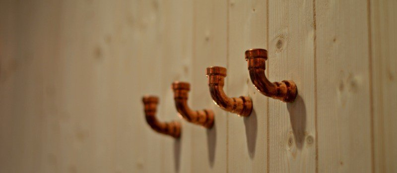 B&Q SS15 How to make - Copper pipe hooks