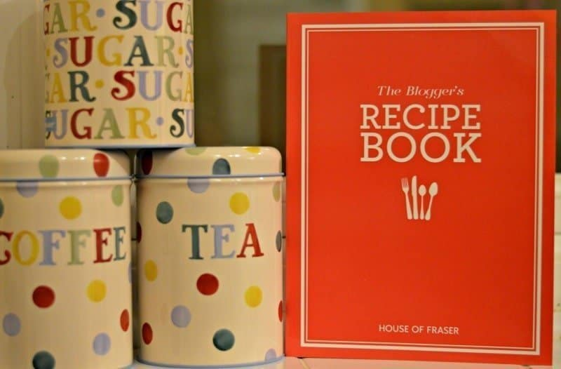 House of Fraser – The Blogger's Recipe Book #Giveaway