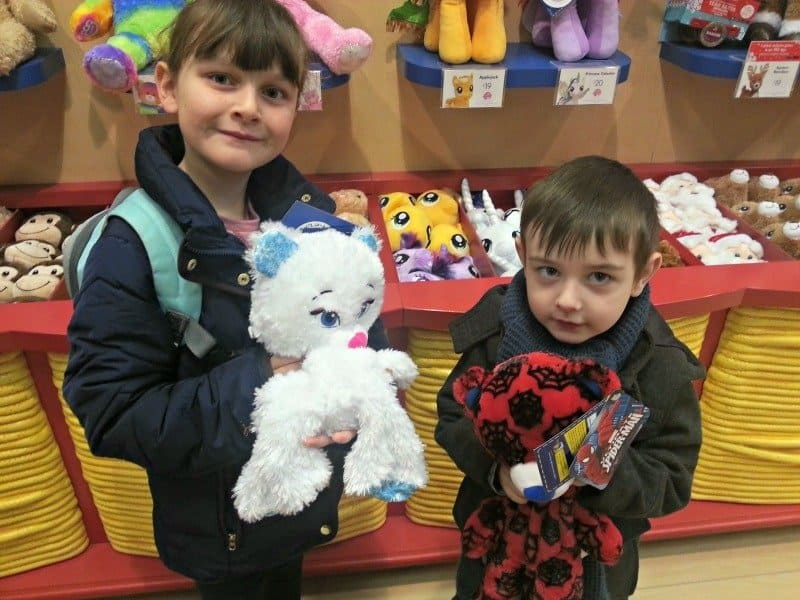 Siblings January 2015 - Build-A-Bear Workshop