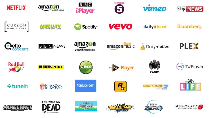 Amazon Fire TV - Apps