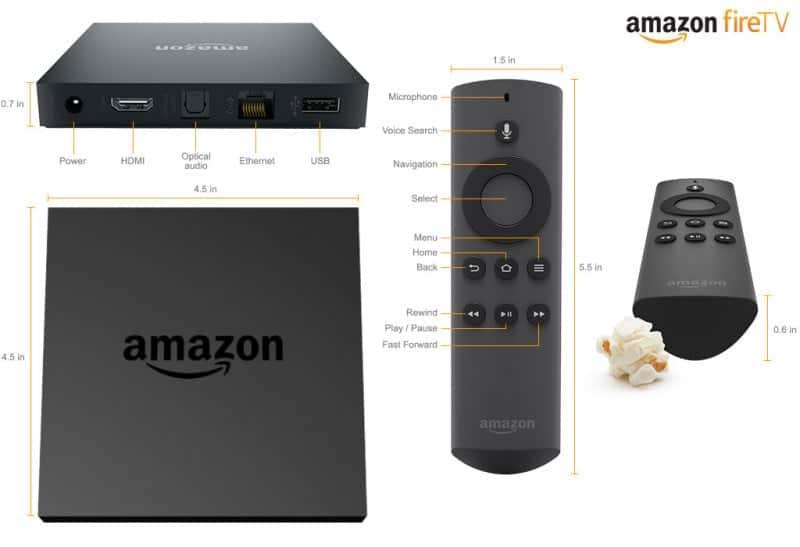 Amazon Fire TV - Specs