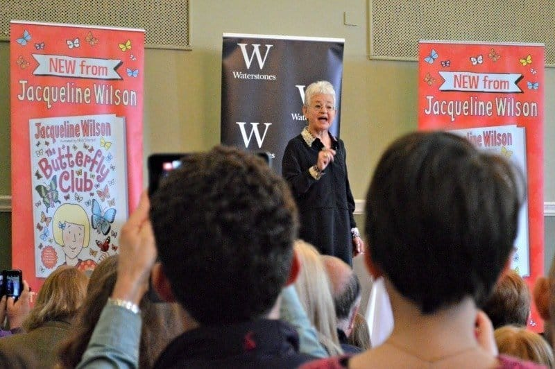 An audience with Jacqueline Wilson - The Butterfly Club