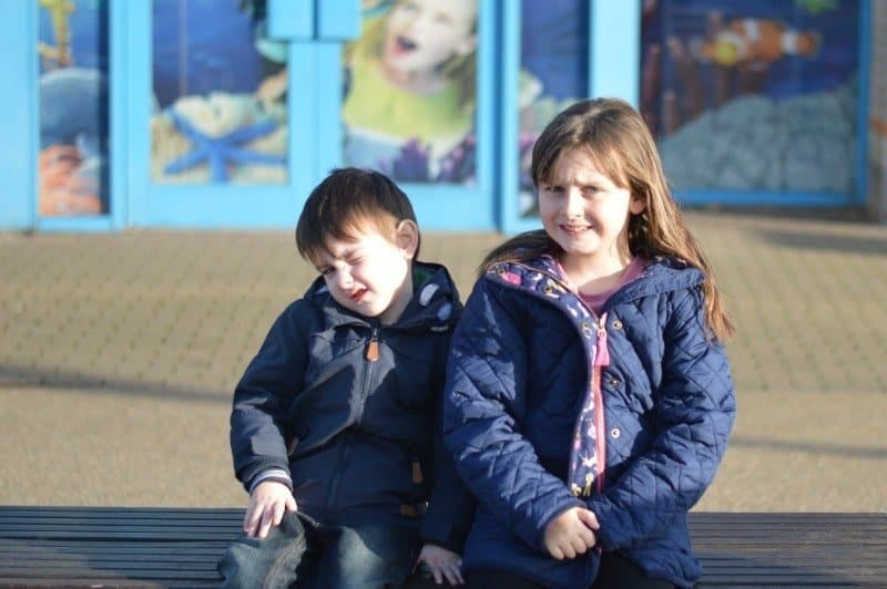 Siblings February 2015 - SEA LIFE Centre