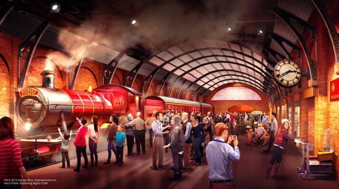 Warner Bros. Studio Tour London, The Making of Harry Potter - Hogwarts Express